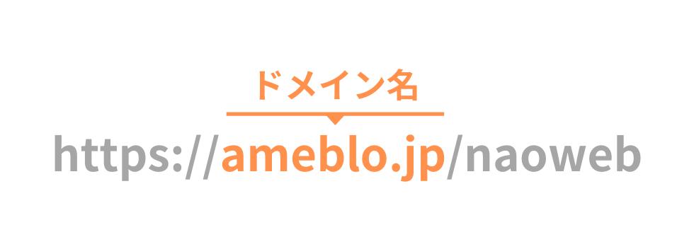 アメブロでブログを作るとURLはこうなります