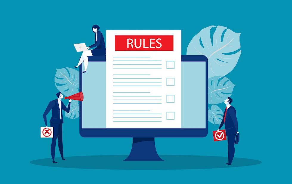 ブログを効率的に運営するためにルールを決める